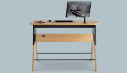 stand up desk solid wood