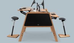 standing desk bench